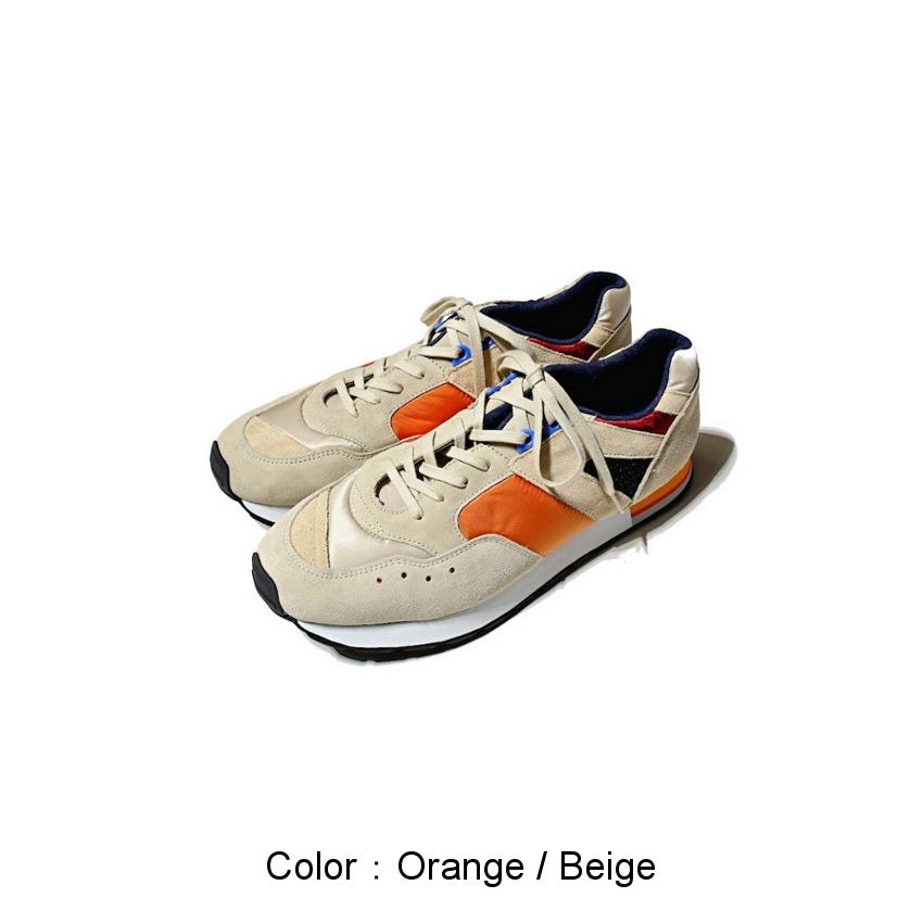 Orange / Beige