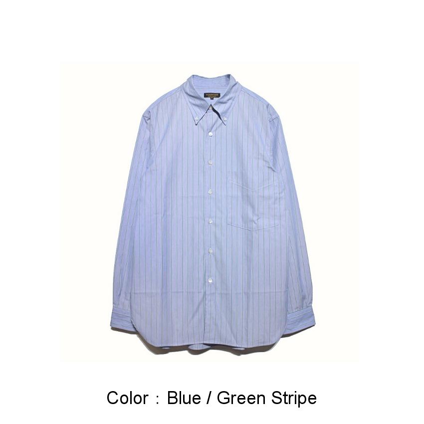 Blue / Green Stripe