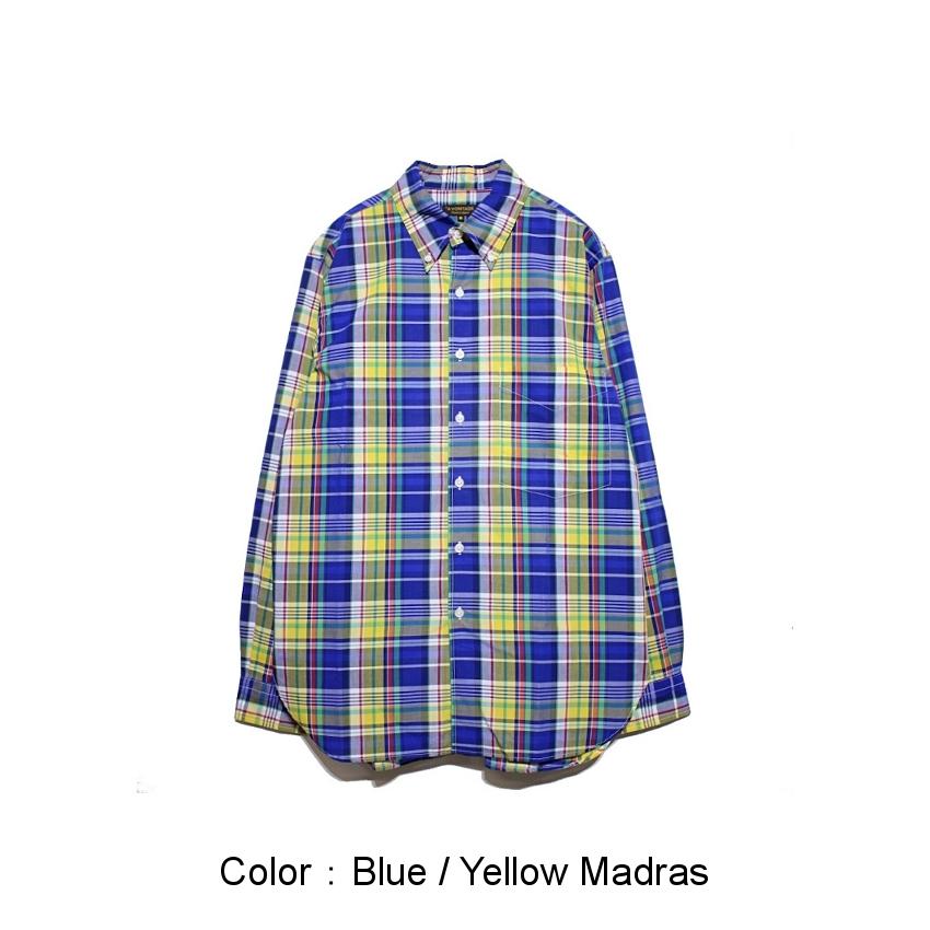 Blue / Yellow Madras