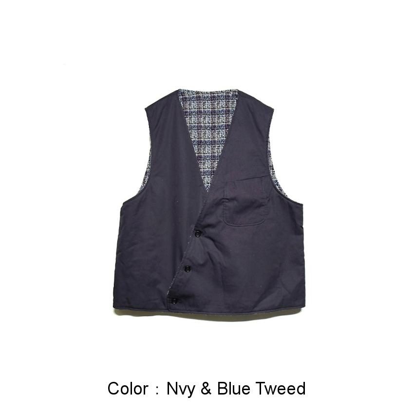 Nvy&Blue Tweed